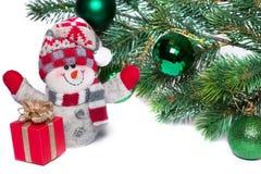 Jul och nytt år Royaltyfria Bilder