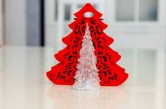 Jul och nytt år, smycken, träd, symboler Arkivbilder