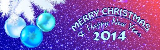 Jul och nytt år snowflake01 Royaltyfri Foto