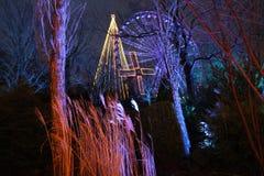Jul på Liseberg i Göteborg Royaltyfri Bild