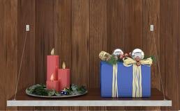 Jul på rengöringsduken - nytt år vektor illustrationer