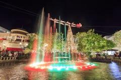 Jul på shoppinggallerian, Glendale Galleria Royaltyfria Bilder