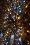 Jul på Valkenburg Royaltyfri Bild