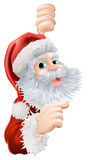 Jul Santa Claus Royaltyfri Foto