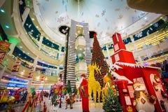 Jul Santa Claus fotografering för bildbyråer