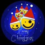 Jul semestrar lyckligt nytt år Royaltyfri Fotografi
