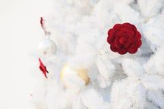 Jul semestrar vit bakgrund för utrymmetext royaltyfria bilder