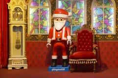 Jul shoppar in Fotografering för Bildbyråer