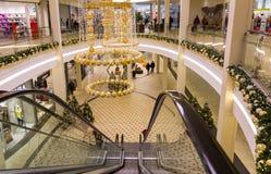Jul shoppinggalleria, Tyskland-Nuremberg Royaltyfri Foto