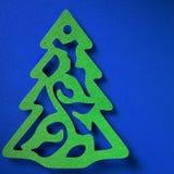 Jul skyler över brister bakgrundstextur, papercrafttema Arkivbild