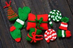 Jul smyckar, xmas, noel, vinterferie royaltyfri bild