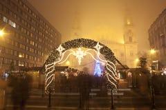 Jul som är ganska för Stets Stephen basilika Arkivfoto