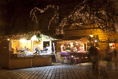 Jul som är ganska i Budapest Royaltyfria Foton