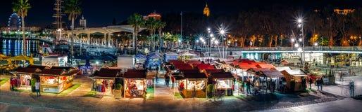 Jul som är ganska i natten Royaltyfria Bilder