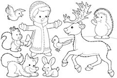 jul som färgar sidan Royaltyfria Foton