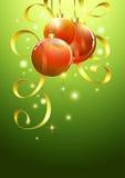 Jul som greeting, eps10 vektor illustrationer