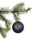 jul som hänger prydnaden royaltyfri bild