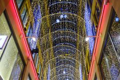 Jul som shoppar i Munich Royaltyfria Bilder