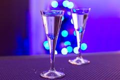 Jul som skjutas av vodka Fotografering för Bildbyråer