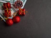 Jul som spenderar begrepp arkivfoton