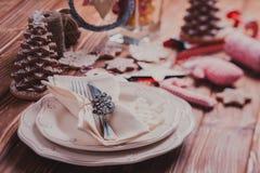 Jul som tjänar som tabellen Arkivfoton