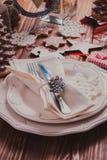 Jul som tjänar som tabellen Arkivfoto