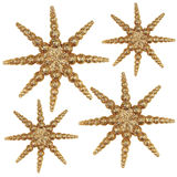 jul stars02 Royaltyfria Foton