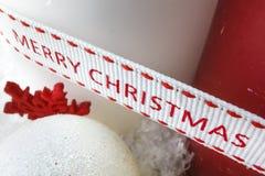 Jul stjärnor, stearinljus Royaltyfri Fotografi