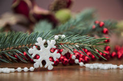 Jul stoppar, övervintrar garneringar Royaltyfri Fotografi