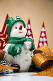 Jul stoppar med ljus bakgrund Royaltyfri Fotografi
