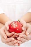 jul tillsammans Royaltyfria Foton