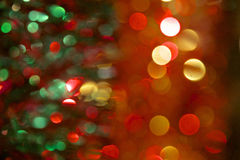 Jul Tinsel Decoration Royaltyfria Bilder