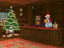 Jul Toy Store Shop Sale Arkivbilder