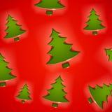 jul tree5 vektor illustrationer
