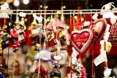 Jul-tree garneringar Royaltyfri Bild