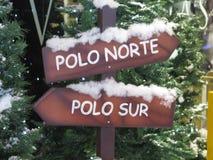 Jul visar på den Malaga flygplatsen Royaltyfria Foton