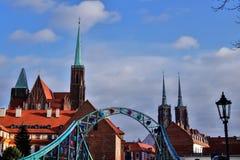 9 12 2017 jul Wroclaw - Polen Royaltyfria Bilder