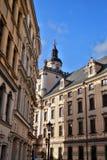 9 12 2017 jul Wroclaw - Polen Arkivfoton