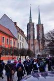 9 12 2017 jul Wroclaw - Polen Royaltyfri Bild