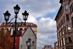 9 12 2017 jul Wroclaw - Polen Fotografering för Bildbyråer