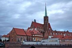 9 12 2017 jul Wroclaw - Polen Royaltyfri Fotografi