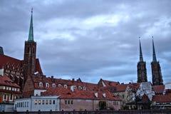 9 12 2017 jul Wroclaw - Polen Royaltyfria Foton