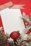 Julark av papper och baubles Royaltyfri Foto