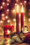 Julatmosfär Arkivfoto