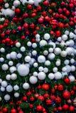 Julatmosfär, garneringar för nytt år claus santa royaltyfri fotografi