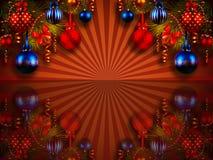 Julbakgrund. royaltyfri illustrationer