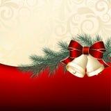 Julbakgrund stock illustrationer