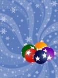 Julbakgrund Royaltyfri Bild