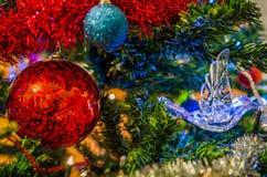 Julbakgrund Arkivfoto