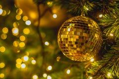 Julbakgrund/bakgrund för glad jul Arkivfoto